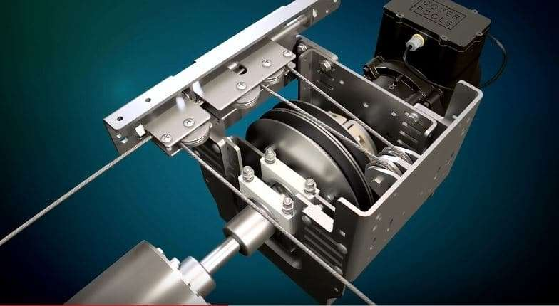 T4 CABLE MOTOR MECHANISM